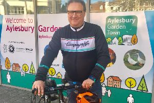 Aylesbury Garden Town Cycling Champion Cllr Clive Harriss