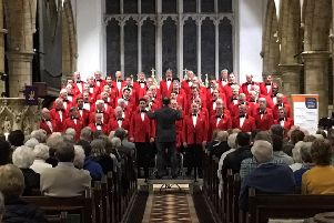 The London Welsh Male Voice Choir at St Mary's, Horsham