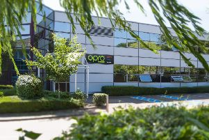 The Hemel Hempstead offices of Queen's Award winner OPRO.