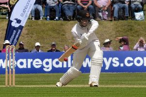 Will Beer batting in better conditions on day one / Picture by Kate Shemilt