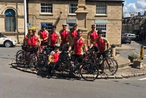 The Paris Peddlers - made of Paul, Mark, Damion, Keith, Terry, Dave, Andrew, Dave, Aaron, Phil and Warren - will set off from Northampton today.