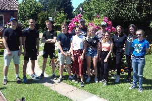 Students from Bay House Sixth Form spent a day volunteering at Wynton Way horticultural site in Fareham for Donate a Day