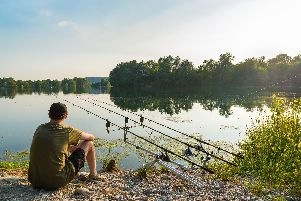 Steve Canavan would love to spend time fishing. Pic: Shutterstock.