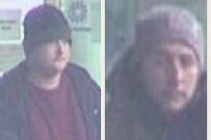 Police are appealing for help to identify the males.