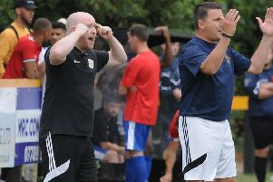Racers boss Scott Easterlow was angered by his club's defending at Heather.