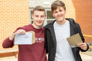 More students who collected their results.