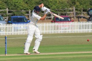Jack Timby on his way to scoring 124.