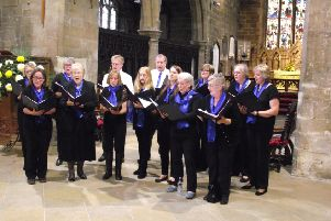 Minting Community Choir performed at the 2017 musical celebration.