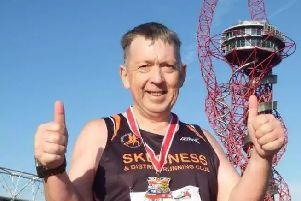 Rocket Robin' is set to complete his 365th consecutive day running - with no plans to stop any time soon.
