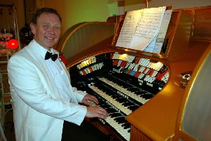 David Ivory will be playing the Compton Theatre Organ