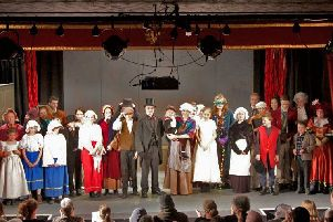 Final curtain call for Horncastle Upstagers after their sell out production of A Christmas Carol EMN-181220-071407001