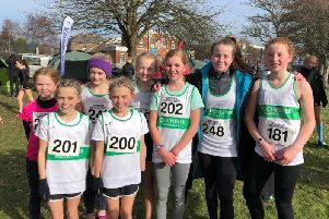Chichester's under-13 girls at Bexhill
