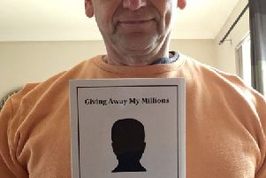 Nick Fisher, the author of 'Giving Away My Millions', would like to hear from the five lucky local families.