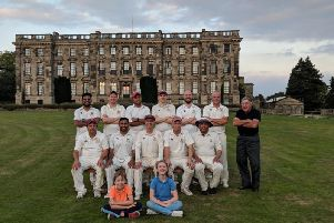 Some of the members of Stoneleigh Cricket Club. Photo supplied.
