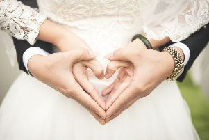 Religious weddings are more popular in Lincolnshire than the rest of the country.
