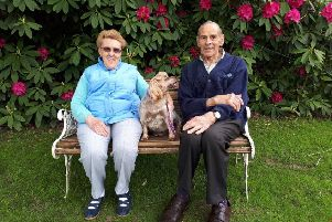 Elaine and Bernard have just celebrated their 60th wedding anniversary.