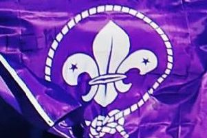 Scouts flag (stock image)