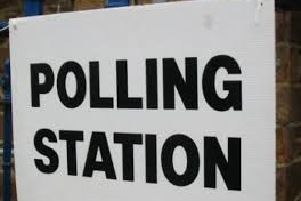 Polling station (stock image)