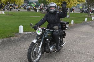 Wolds Motorcycle Run 2019 from Lincolnshire Aviation Heritage Centre. EMN-190605-091817001