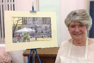 Carol Hill, an experienced artist and an award winner within The Society of Women Artists at prestigious exhibitions, gave a demonstration to Horncastle Art Group. EMN-190805-162843001