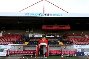 Crawley Town's People's Pension Stadium.'Picture by: Stephen Lawrence/Southern News & Pictures (SNAP)