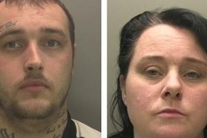 Reece Howard and his then partner Sarah Lake targeted properties in the Boston andHorncastle areas stealing thousands of pounds worth of items.