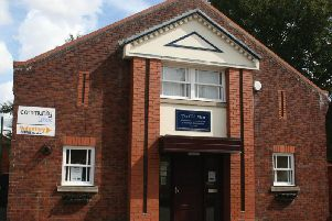 Community Lincs' offices in Sleaford on Church Lane.