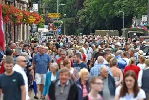 Thousands are expected to attend the popular Woodhall Spa 1940s Festival this weekend.