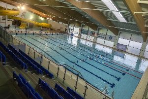 Meridian Leisure Centre, in Louth. Picture: Sarah Washbourn. EMN-191208-115458001