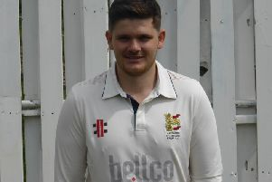 Hastings captain Tom Gillespie. Picture courtesy of Simon Newstead.