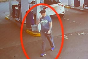 CCTV Footage from Dewarts Filling Station in Waringstown as Police investigate the murder of 54 year old Malcolm McKeown. Pic Colm Lenaghan/Pacemaker