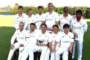 Woodhall Spa are the Lincs ECB Premier champions.