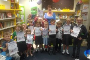 Summer Reading Challenge presentation at Woodhall Spa Library EMN-190916-234143001