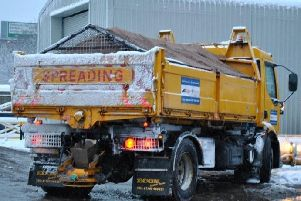 Gritters are at the ready