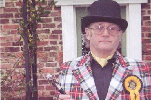 'The Iconic Arty-Pole' (Peter Hill) will once again be representing the Official Monster Raving Loony Party in the next general election.