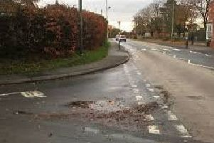 Safety worries: the junction of Mareham Road and Boston Road.