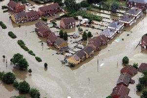 The Met Office have issued a weather warning for Hampshire with the risk of heavy rain and potential flooding.'Photo credit: Owen Humphreys/PA Wire