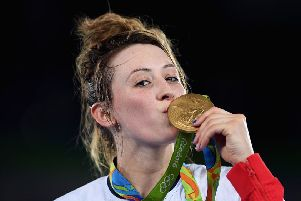 Jade Jones in Brazil. 631385865