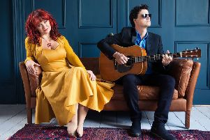 Sean Lakeman and Kathryn Roberts