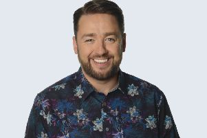 Jason Manford heads out on tour next year