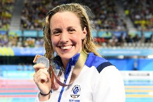 Hannah Miley won silver in the 400m individual medley in Australia
