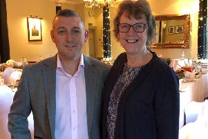 Kenny McMillan and Diane Paterson of Macdonald Pittodrie House Hotel