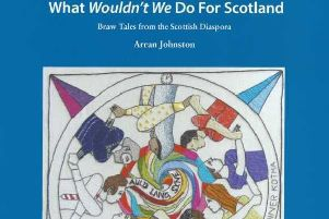 Arran Johnston launches his new book.
