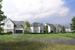 An artists impression of the proposed development in Inverurie.