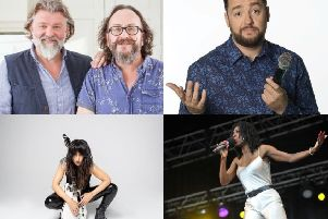 The spring line-up include The Hairy Bikers, Jason Manford, KT Tunstall and Heather Small.