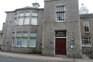 Martin Stepek will visit Inverurie Library (pictured) and also Ellon Library this week
