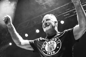Richard Jobson, one of the founders of The Skids, still features in the band's current line-up. (Photo: Steve Smith)