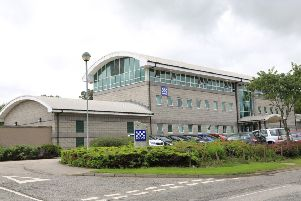 Equipment at Inverurie Police Station has been highlighted as unsuitable