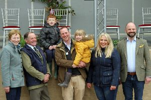 The Scotland's Beef Event hosts were the Milne family