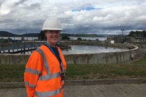 Sarah Gowanlock (25) visited Allanfearn Waste Water Treatment in Inverness last year. She said: 'What an opportunity! I got to see where the water goes after flushing and learned so much. So much care and thought went into the presentations and we received a really warm welcome.""